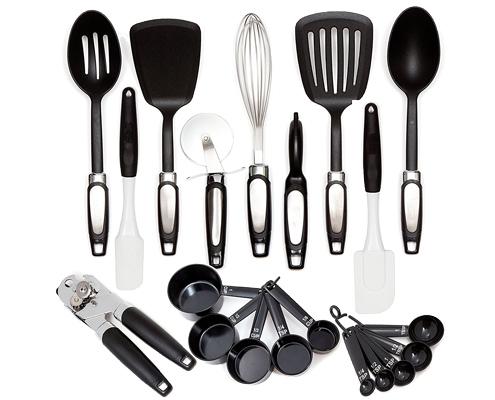 C5-005 20-Piece Premium Cooking Kitchen Utensils Tool ...